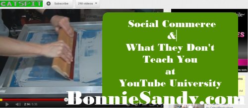 Social Commerce- What They Don't Teach You at YouTube University