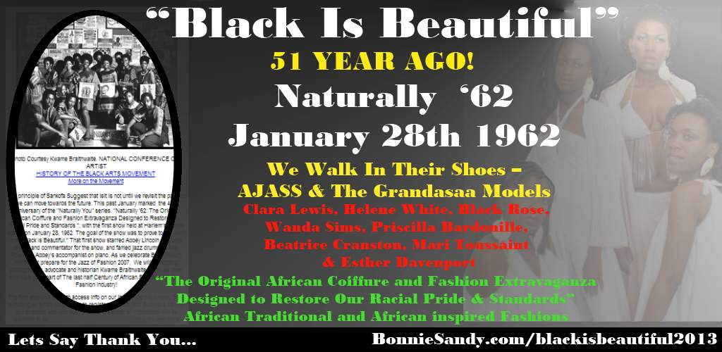 Black is beautiful -grandasaa Model -2013- bonnie sandy