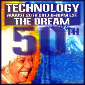 the 50th celebration of I have a dream and technology