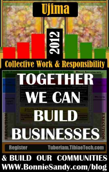 Ujima-Collective Work and Responsibility- 2012 bonniesandy