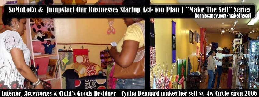 Cynthia dennard at 4w circle of Arts and enterprise