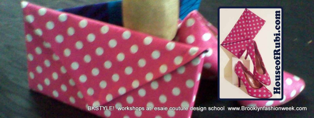 Shoe and bag covered workshop