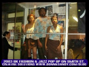 2003 Pop up  Store jazz venue on  smith street